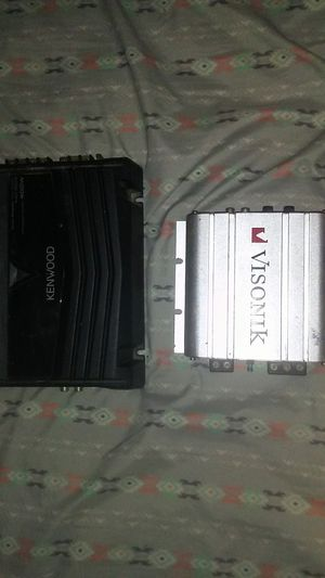 Amps $55 a piece or $100 for both for Sale in Ottumwa, IA