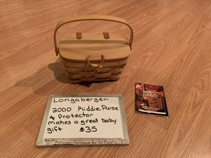 Longaberger Kiddie Purse for Sale in Mechanicsburg, PA