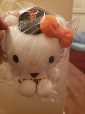 Sf giants hello kitty plush stuffed animal. for Sale in Oakley, CA