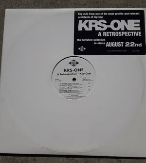 KRS-ONE Vinyl Record for Sale in Fresno, CA