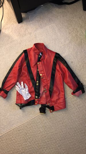 Michael Jackson thriller Jacket toddler Small 5-8 for Sale in Clackamas, OR