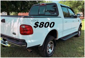 $8OO 🔥Original Owner🔥2002 Ford F-150 Truck Run and drive very smooth!!! for Sale in Kansas City, MO