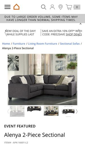 Ashley Furniture- Sectional Couch for Sale in Morgantown, WV