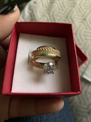 Wedding rings 14k gold for Sale in Vernon, CA