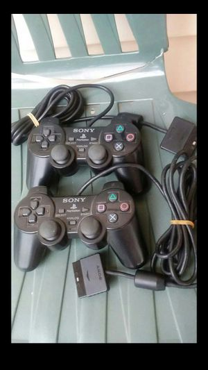 2 Sony PlayStation2 Controllers for Sale in Nashville, TN
