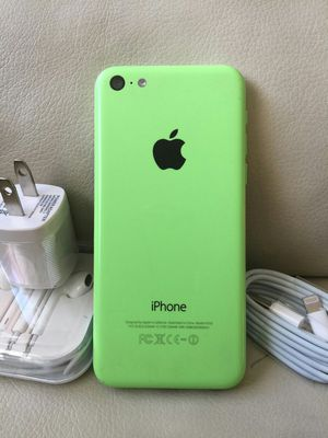 Iphone 5C - excellent condition, factory unlocked, includes new box & accessories for Sale in Springfield, VA
