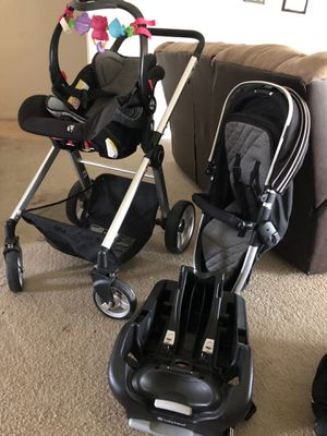 Baby Trend car seat/stroller combo like new for Sale in Humble, TX