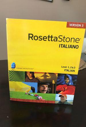 """Rosetta Stone """"Italiano"""" for Sale in Manchester, CT"""