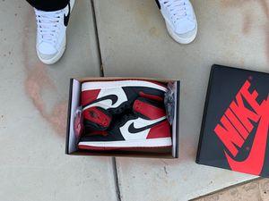 Jordan 1 bred toe for Sale in Bakersfield, CA