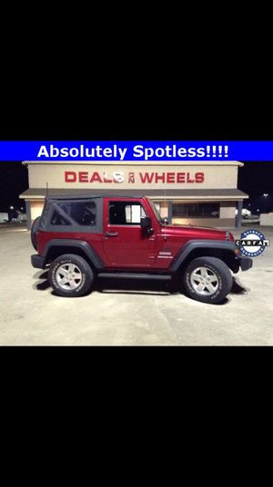 2013 Jeep Wrangler sport 63000 miles for Sale in Nashville, TN