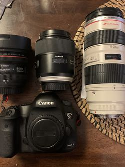 Canon MK iii Bundle for Sale in Kent,  WA