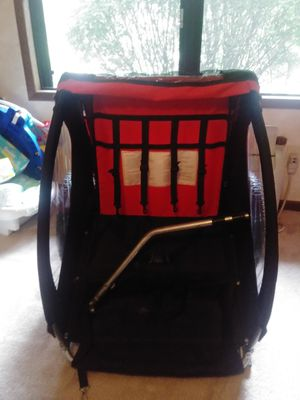2 seat Bike trailer for toddler for Sale in Reynoldsburg, OH