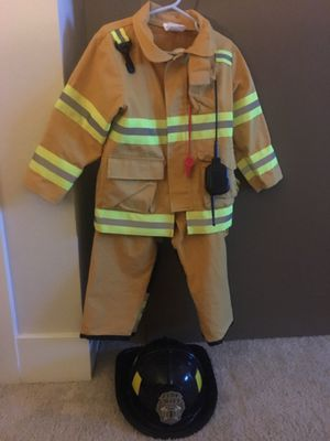 Toddler boy Fire Chief Costume for Sale in Anaheim, CA