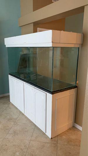 220 gallon aquarium (cracked bottom) for Sale in Port St. Lucie, FL