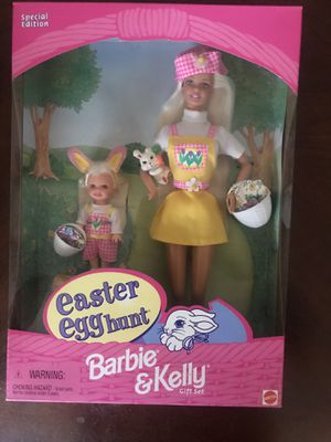 Special Edition Barbie & Kelly Easter Egg hunt for Sale in Santa Clara, CA