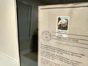 First Day Of Issue Organized Labor Commemorative 15¢ Stamp for Sale in Fairfax, VA