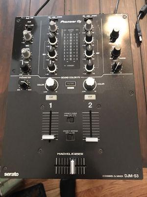 Pioneer Djm S3 serato mixer for Sale in Chicago, IL
