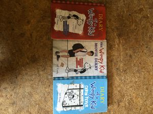 Diary of a wimpy kid books for Sale in Clyde, TX