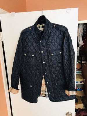 Men Burberry jacket xl for Sale in Paramount, CA