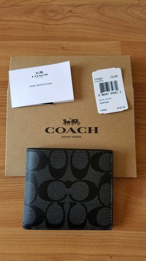Coach men wallet new for Sale in West Covina, CA