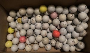 Golf balls, 75 assorted used for Sale in Northbrook, IL