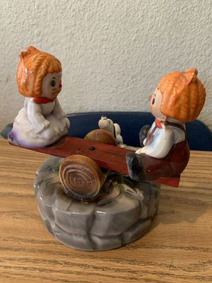 Vintage Raggedy Ann and Andy SeeSaw Music Box for Sale in Buena Park, CA