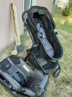 Evenflo car seat and carriage with stroller for Sale in Wichita, KS