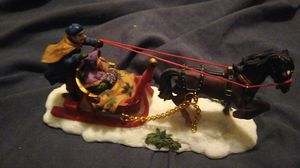 Vintage Holiday Village Poly Carriage Ornament for Sale in Phoenix, AZ
