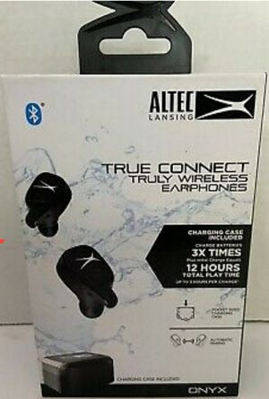 Altec Lansing ONYX True Connect Bluetooth Truly Wireless Headphones MZX635 💧 Waterproof for Sale in San Diego, CA