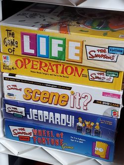 Simpson board games for Sale in Gresham,  OR