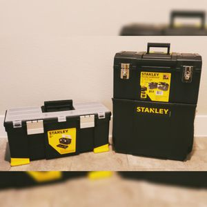 Stanley Rolling Workshop & Tool Box for Sale in Haslet, TX
