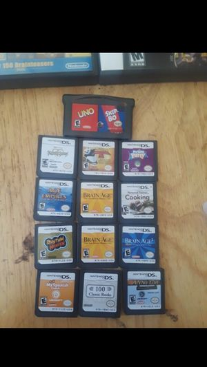 Nintendo Ds Lite Games. for Sale in Snohomish, WA