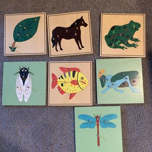 Zoology Puzzles - Montessori for Sale in Coram, NY