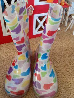 Rain boots Size2 for Sale in Baldwin Park,  CA