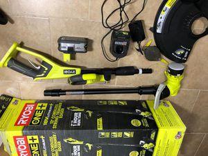 """Ryobi 18v 13"""" string trimmer edger kit for Sale in Dallas, TX"""