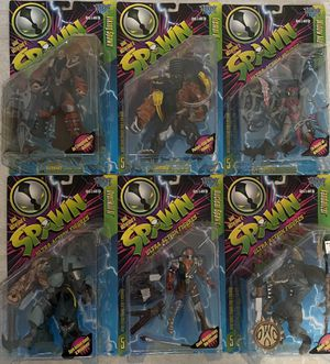McFarlane Toys Spawn Complete Series 5 Figure Line MOC for Sale in Santa Ana, CA