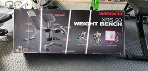 **NEW** adjustable weight bench with preacher pad/bicep curl & leg exercise for Sale in Skokie, IL