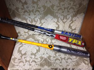 Baseball bats all different sizes for Sale in Rocky River, OH