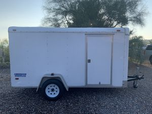 Texas 6 ft x 12 ft Enclosed Trailer - New Tires for Sale in Alpine, CA