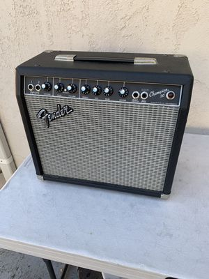 Fender champion 30 amplifier acoustic or electric guitar and pedals for Sale in La Mesa, CA