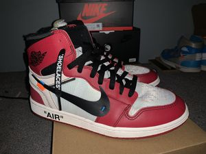 Off White Air Jordan 1 Chicago SZ 10.5 for Sale in Los Angeles, CA
