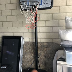 Official NBA Size Hoop 2 Basketballs 1 Ball Pump for Sale in Irvine, CA