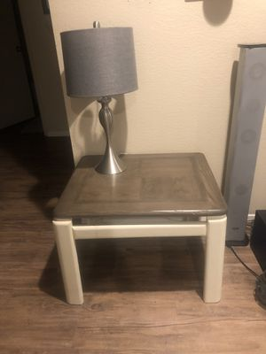 2 Solid Wood Farmhouse Style End Tables for Sale in Scottsdale, AZ