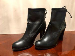NEW Stuart Weitzman Glove Tie-Back Leather Ankle Boot - Size 5.5 - Original Price $545 for Sale in Alexandria, VA