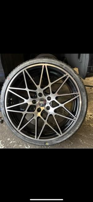 "Bmw 20"" new m style rims tires set set for Sale in Hayward, CA"