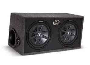 2 Kickers 12 with amp for Sale in Los Angeles, CA