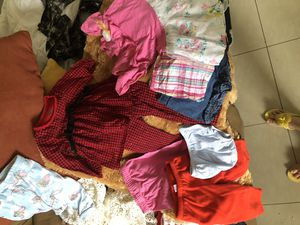 18 month 9 piece clothing baby girl Christmas red baby girl set for Sale in Doral, FL