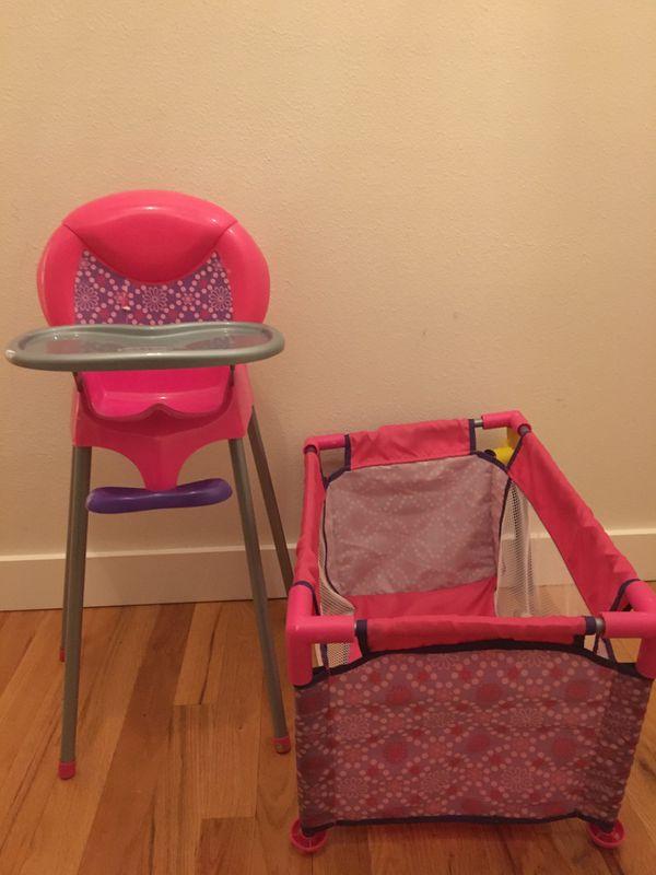 Graco baby doll high chair