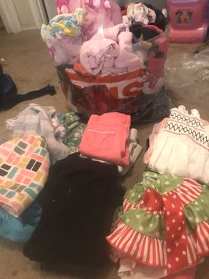 Giant baby girl clothes lot !!!!!! for Sale in San Antonio, TX