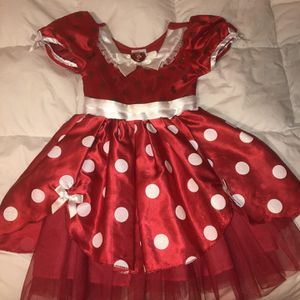 MINNIE MOUSE Costume From Disney Store Size 4 for Sale in Long Beach, CA